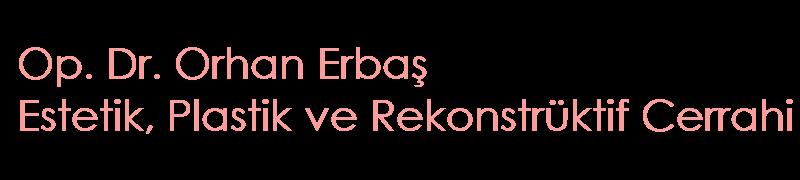 Orhan Erbaş Estetik Logo